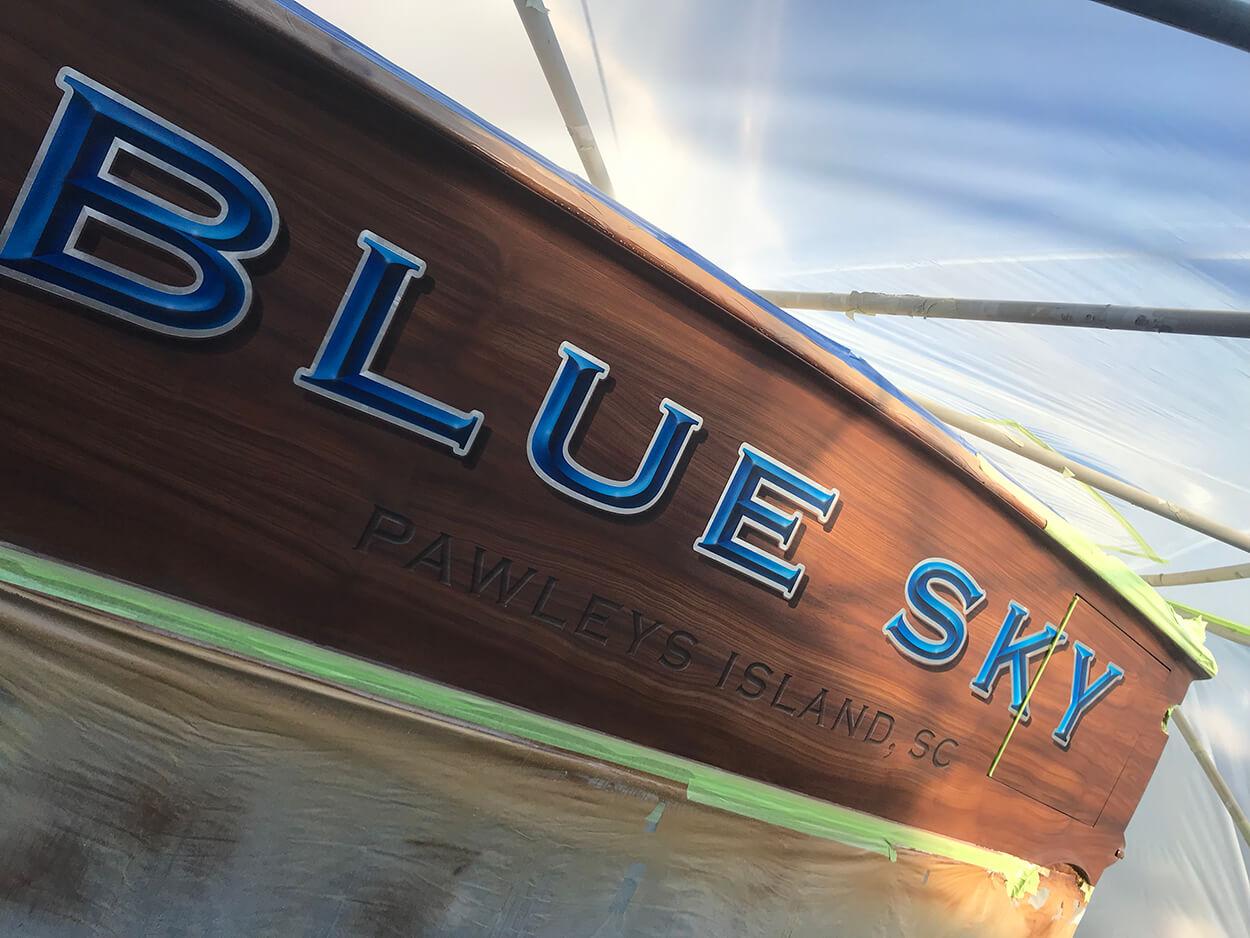 Blue Sky Pawleys Island South Carolina