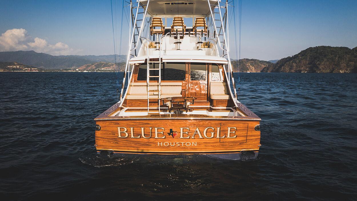 Blue Eagle Houston Texas Faux Teak