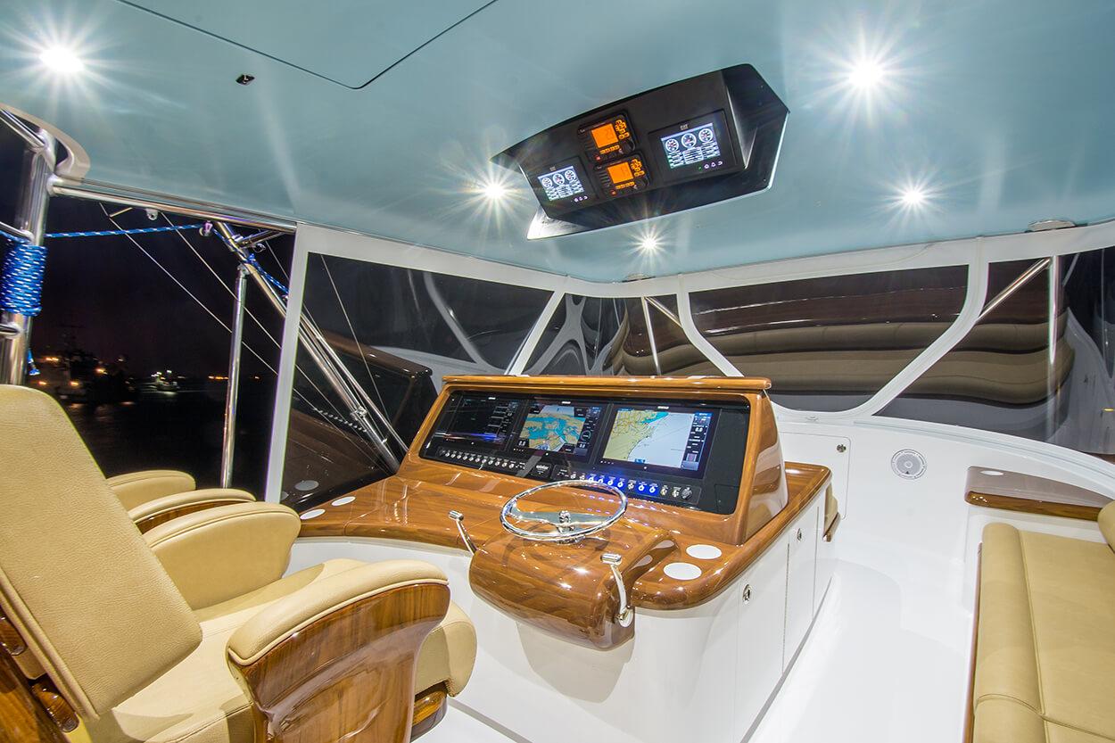 Wolverine Atlantic Beach North Carolina Faux Teak bridge vessel electroncis console helm pod