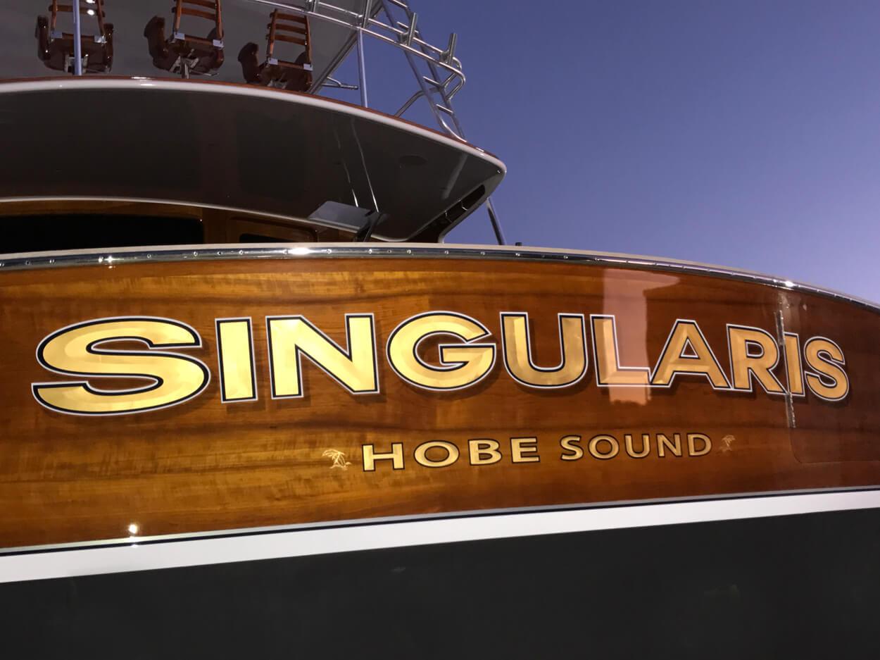 Singularis Hobe Sound Florida Boat