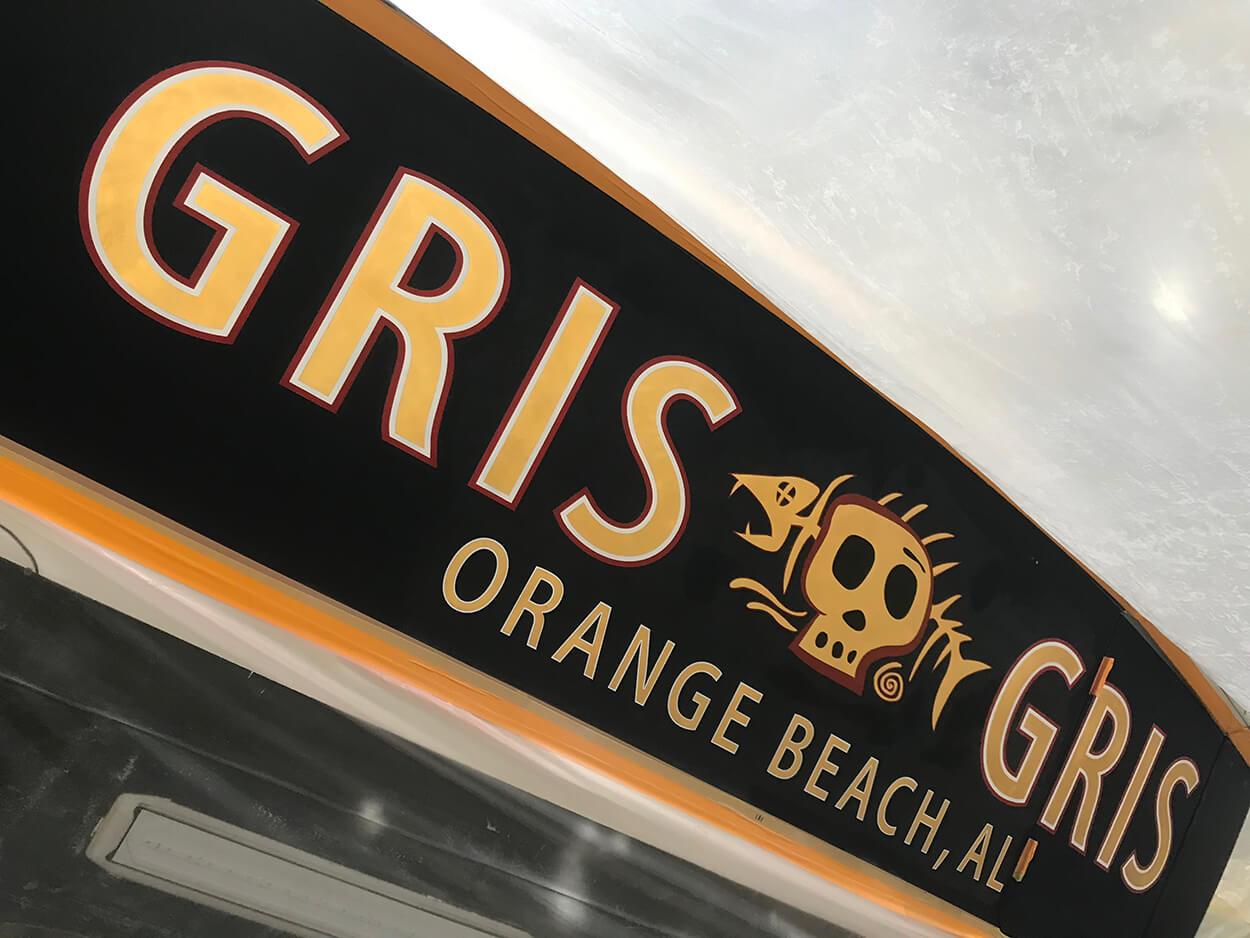 GRIS GRIS Orange Beach Alabama Boat Transom