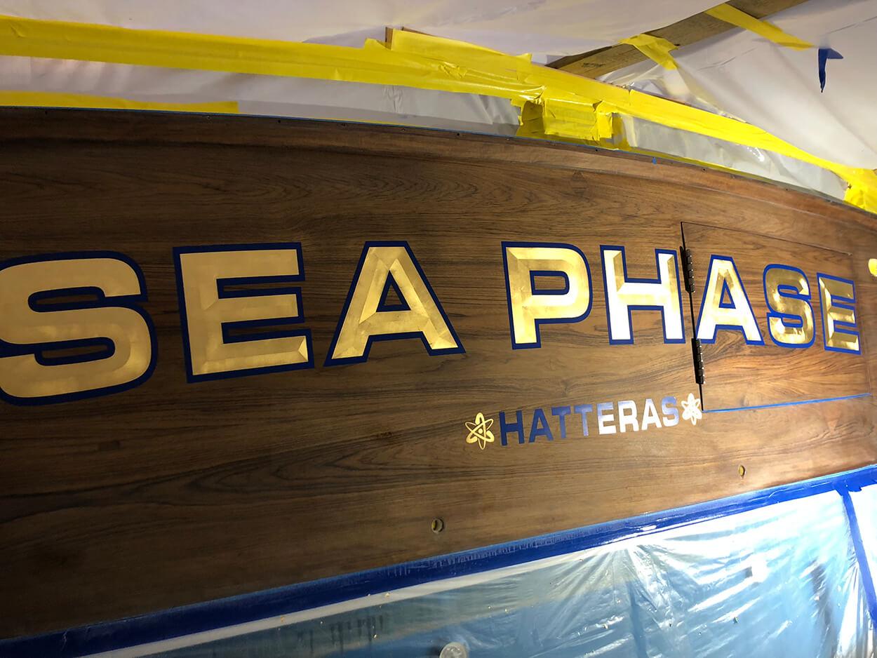 Sea Phase Hatteras North Carolina North Carolina Boat Transom