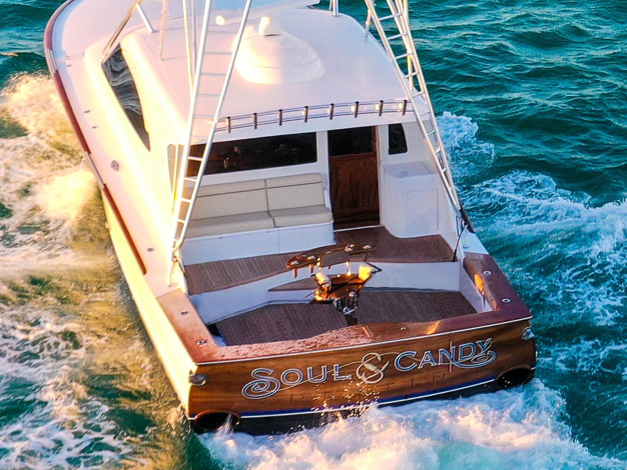 Soul Candy Destin Florida Boat Transom