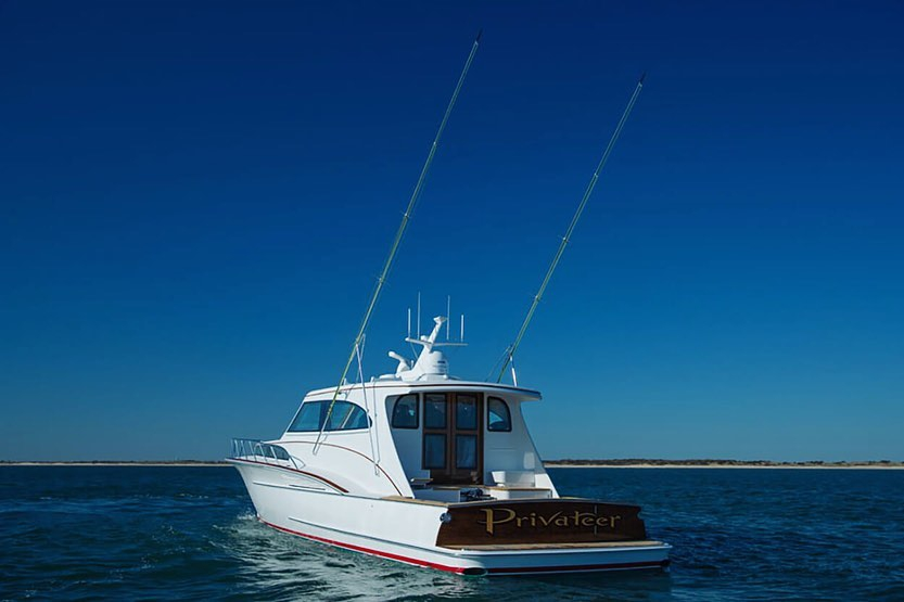 "Shot of ""Privateer"" featuring our bevel style, gold leaf lettering and hand painted outlines. @jarrettbay"